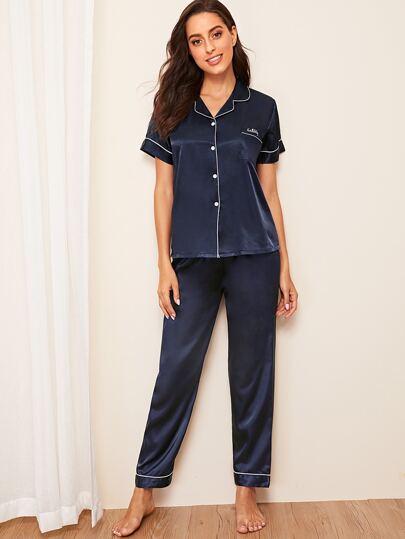 8f132177b3 Pajama Sets, Shop Pajama Sets Online   SHEIN UK