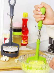 Long Handle Potato Presser 1pc