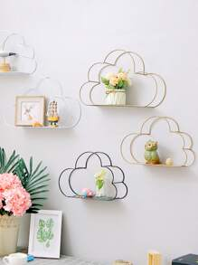 Cloud Shaped Wall Storage Rack 1pc