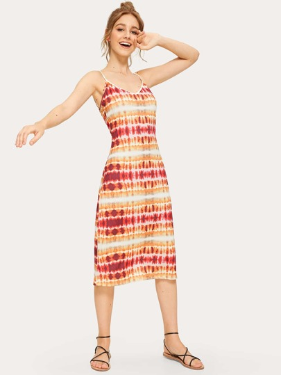 Tie Dye Cami Dress