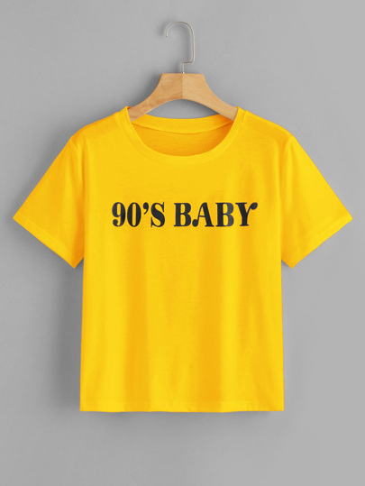 43bf4268ad534 T-shirts & Tees   Stylish T-Shirts for Women   Best Selling Tops   ROMWE