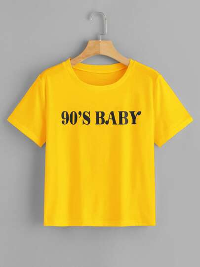 4270918adf8ec T-shirts & Tees | Stylish T-Shirts for Women | Best Selling Tops | ROMWE