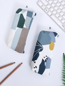 Abstract Frost Pencil Case 1pc