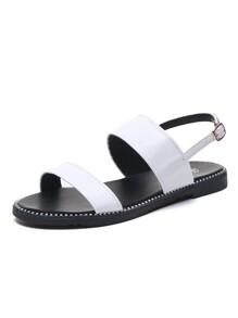Open Toe Slingback Sandals