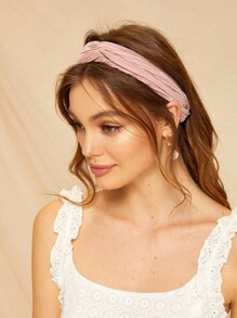 Pleated Twist Headband