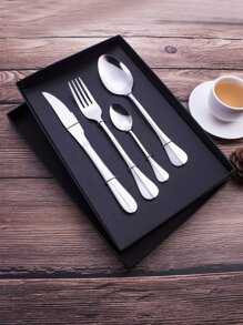 Stainless Steel Cutlery Set 4pcs