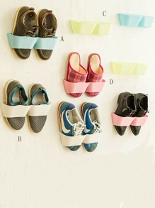 Wall Mounted Shoes Storage Rack 1pc