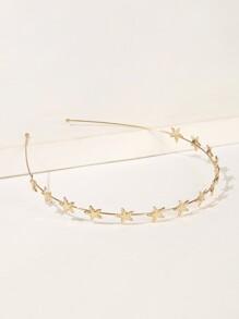 d05a1d6f70 Star Decor Metal Headband | SHEIN UK
