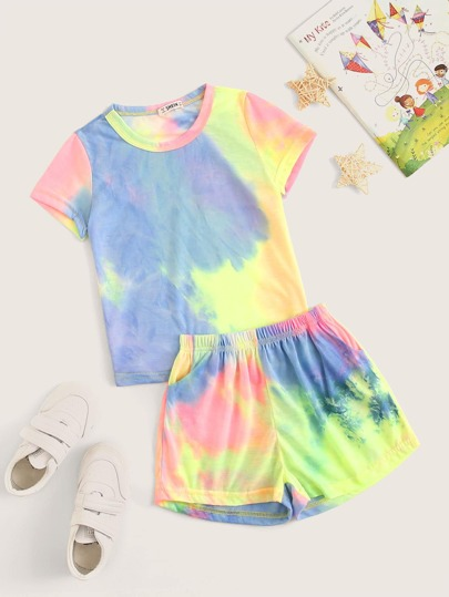 Girls' Baby Clothing Humorous 3 Pieces Unicorn Print T Shirt Top And Mesh Skirt With Headband Set For Baby Girl Elegant Appearance Mother & Kids
