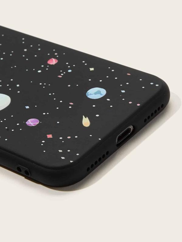coque iphone xr galaxie espace