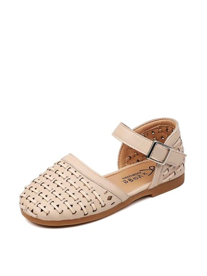 Baby Girls Buckle Strap Flats
