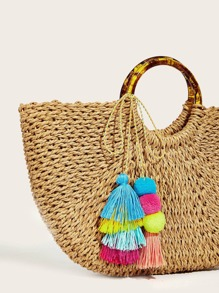 Pom-pom & Tassel Bag Accessories