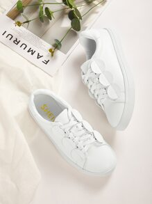 Lace-up Low Top Sneakers
