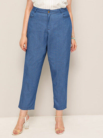 38d7372395d19 Plus Size Jeans | SHEIN IN