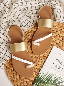 Toe Ring Flat Sliders