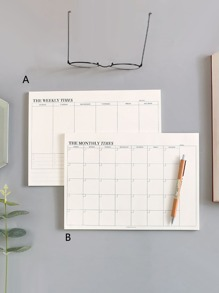 Monthly Plan Book 1pack
