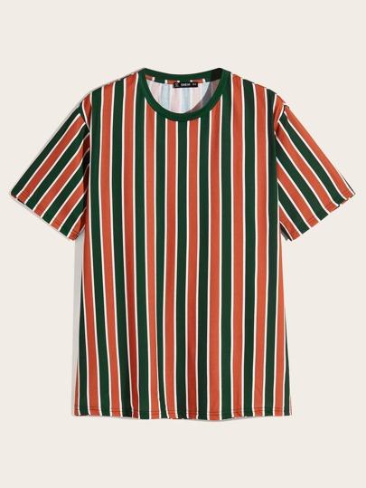 eedbae5ef04 Men Colorblock Striped Top
