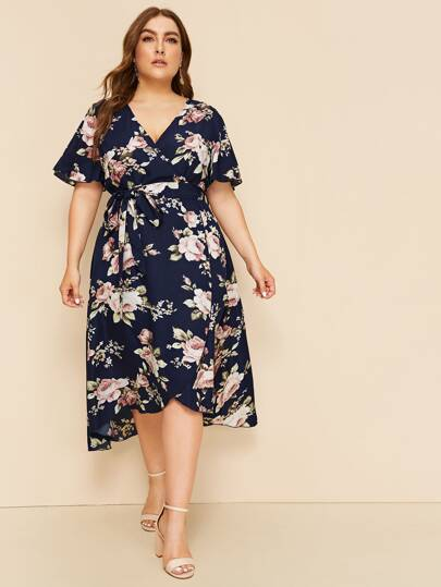 89d9bb1c2b3e Plus Size Dresses, Shop Plus Size Dresses Online | SHEIN UK