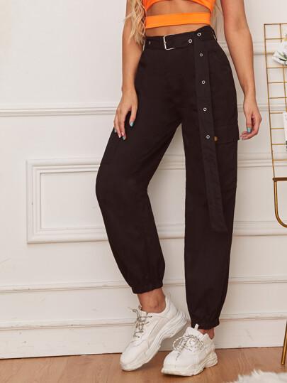 aee1a3703faa Women's Trousers, Shop Wide Leg, Hight Waist & More | SHEIN UK