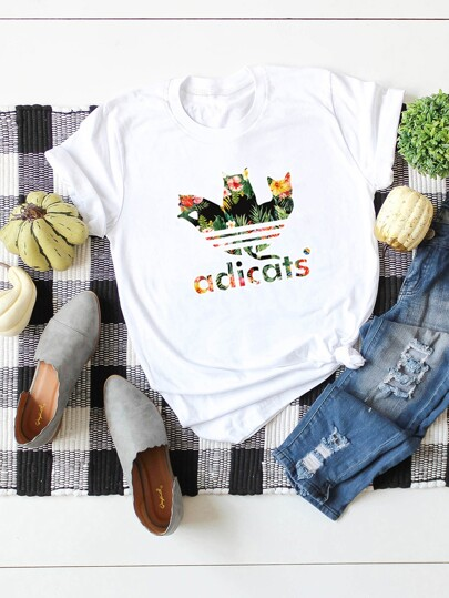 664894182d T-shirts | T-shirts tendance pour femmes | SHEIN
