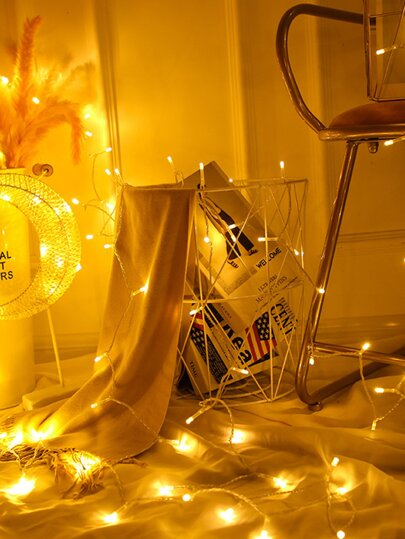 50pcs Bulb String Light 5M