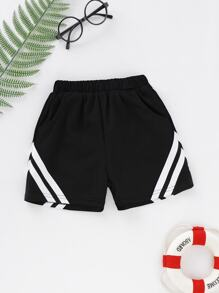 Toddler Boys Stripe Shorts