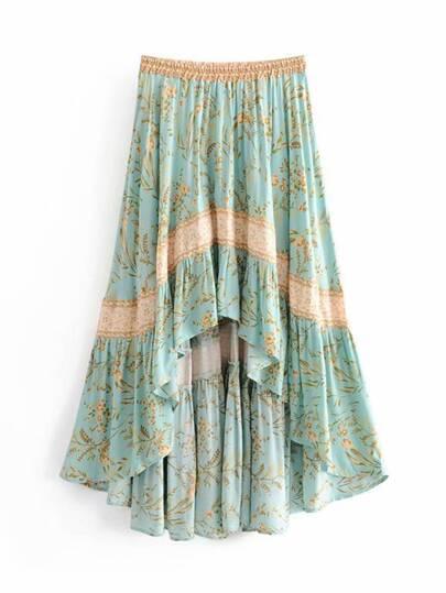 2469d4372 Faldas en diversos colores y estampados | SHEIN