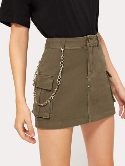 883c43212b Denim Skirts, Shop Denim Skirts Online | SHEIN UK
