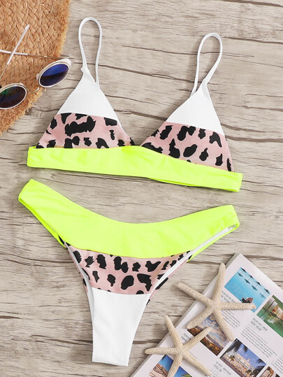 2019 New Hort Sale Girls Swimwear Two-piece Suits Womens Sexy Two Piece Bikini Set Swimsuit Dot Swimwear Beachwear Mayokini Swimming Body Suits