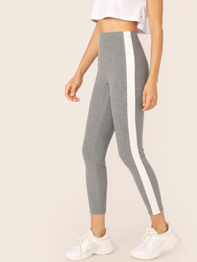 Side Striped Leggings