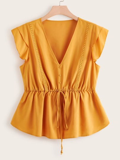 e8153bd3c6c29e Women's Plus Size Blouses, Shirts & Tops | SHEIN