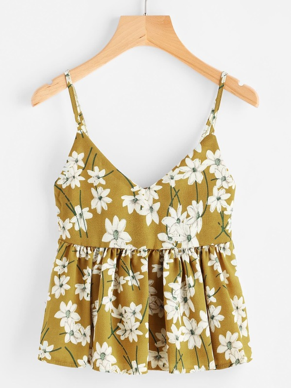 a5c4a8f0f64 Cheap Floral Print Random Babydoll Cami Top for sale Australia