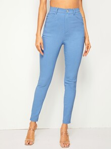 Slant Pocket Cigarette Pants