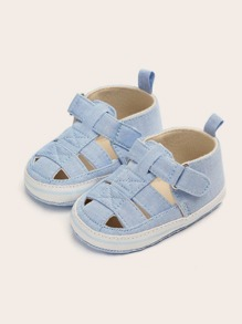 Baby Boys Cut Out Round Toe Sandals
