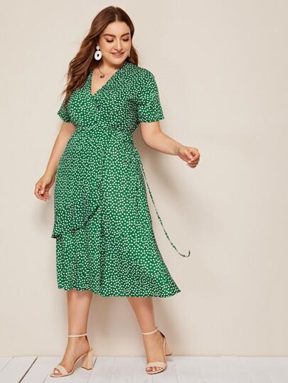 d2492349b6 Women's Plus Size & Curvy Dresses | SHEIN