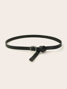 Metal Square Buckle Belt 1pc