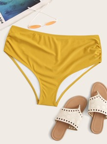 Plus Ruched Swimming Panty