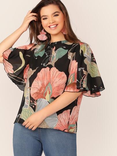 c5bcfbcd6e Plus Size Blouses   Buy Women Curvy Fashion Online Australia   SHEIN