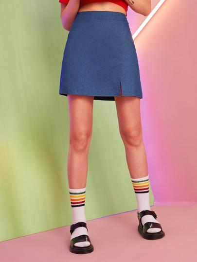 f919931d7f Shop Denim Skirts online | Denim Skirts for sale Australia| SHEIN