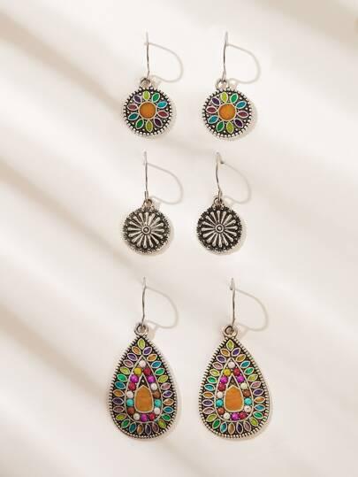 d5ea2aff42d Earrings   Fringe, Hoop Earrings & Stud Earrings   SHEIN UK