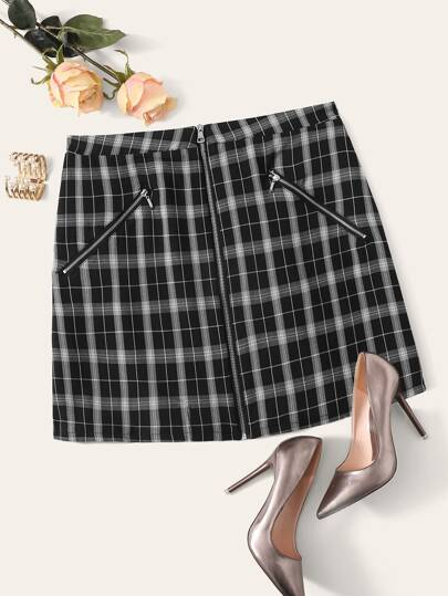 1464b4d32 Plus Size Skirts | Plus Size Skirts Online | SHEIN