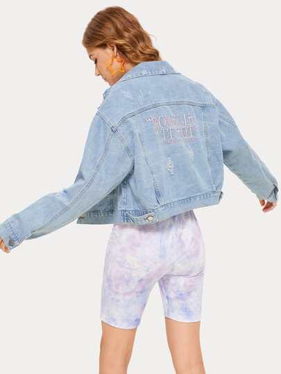 9bfa5d73876 Denim Jackets | Denim Jackets Sale Online | ROMWE
