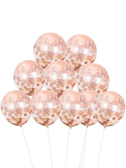 Sequin Decor Balloon 10pcs