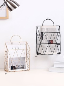 Metal Storage Basket 1pc