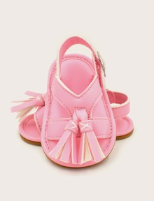 Bebé Con Niña Diseño Sandalias De Fleco CoeWrxBd