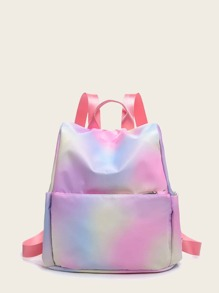 Gradient Design Pocket Front Backpack