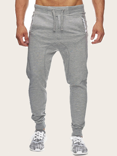 b88c6aea Men Drawstring Waist SweatTrousers