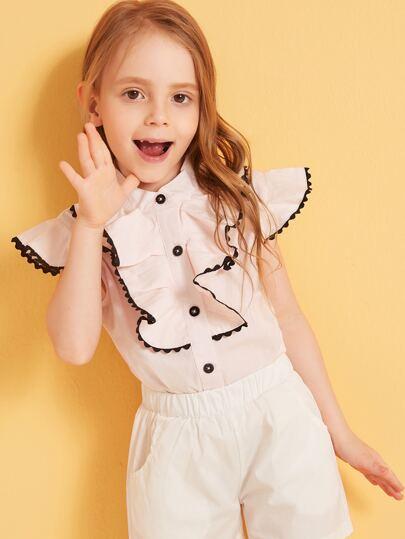 8dc8cc917d Toddler Girl Blouses   Toddler Girl Blouses Online   SHEIN