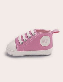 2629c8d601 Baby Girls Lace-up Decor Sneakers | SHEIN
