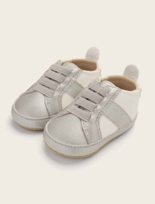 Baby Lace-up Decor Sneakers